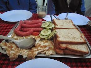 Photo: Breakfast