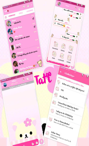 Wa pink 2018 Terbaru 1.0 screenshots 2