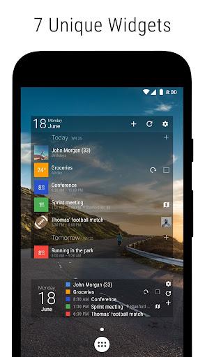 Business Calendar 2・Agenda, Planner & Widgets screenshot 4