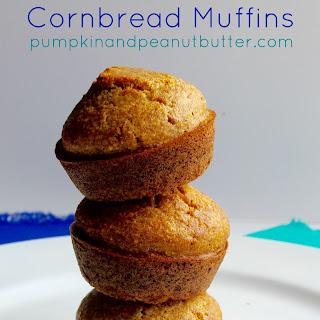 Whole Grain Cornbread Muffins