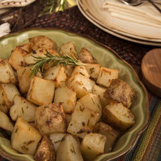 Herb-Crusted Russet Potatoes Recipe