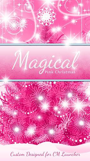 Magical Pink Christmas CM