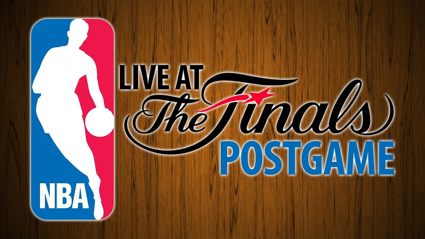 NBA Live at the Finals Postgame