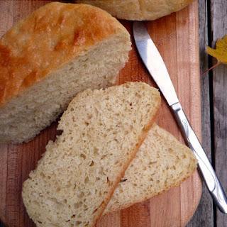 No Knead Peasant Bread.