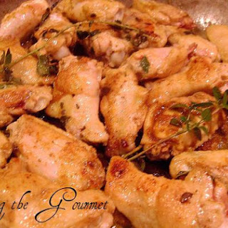Chicken Wings With Sage & Mint
