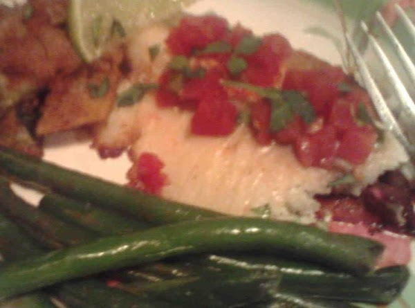 Mexican Tilapia W/lime Butter Green Beans Recipe