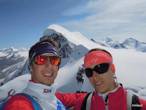 Photo: on top of Klein Matterhorn