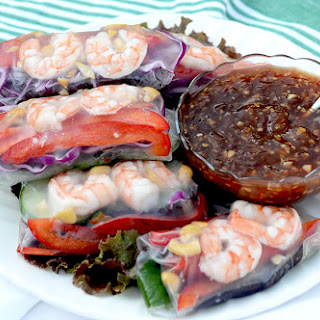 Summer Rolls with Tropical Sweet Chili Garlic Sauce