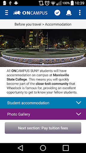 ONCAMPUS SUNY PreArrival Apk Download 5