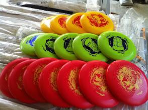 Photo: Flying discs new 2011