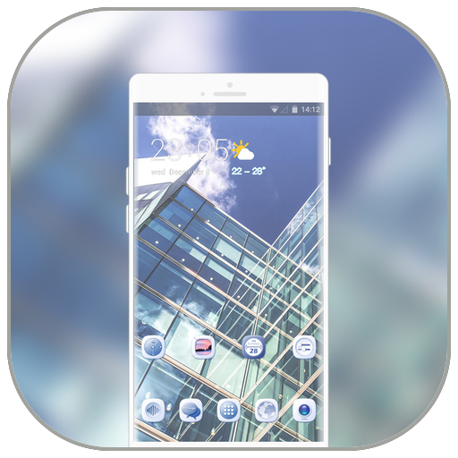Theme for anime stylish building wallpaper icon