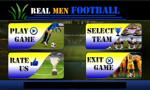 Real Men Football - náhled