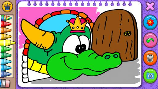 Princess Coloring Book & Games screenshots 7