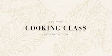 Beginner Cooking Class - Twitter Post Template