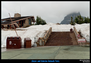Photo: Glacier National Park: Visitor Center.
