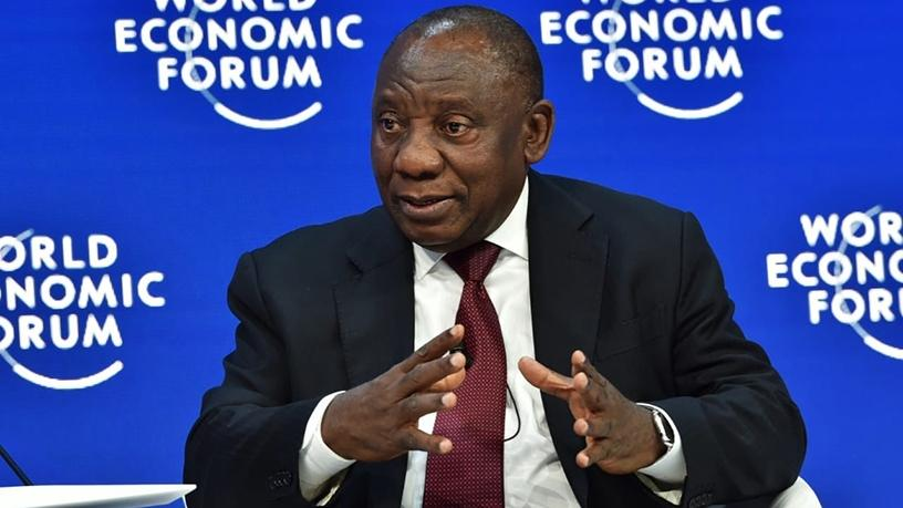 President Cyril Ramaphosa is part of the Team SA delegation at the annual World Economic Forum in Davos, Switzerland. (Photo source: @PresidencyZA)
