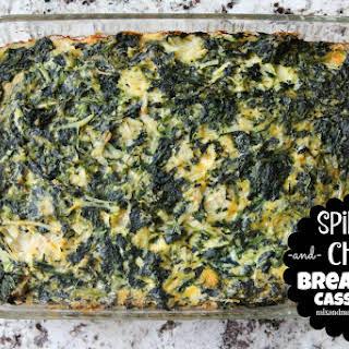 Spinach & Chorizo Breakfast Casserole.