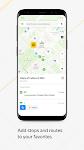 screenshot of Yandex.Maps and Transport