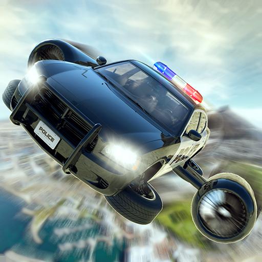 Flying Police Car Training