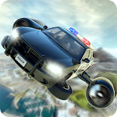 Flying Police Car Training