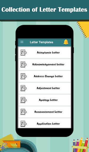 Letter Templates - Offline Cover Letter Template 1.0 screenshots 1