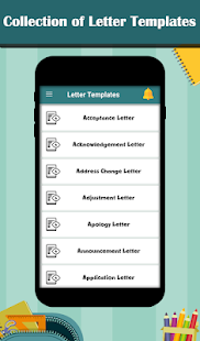 Letter Templates - Offline Cover Letter Template – Apps bei Google Play