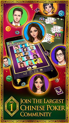 Chinese Poker - KK Chinese Poker (Pusoy/Piyat2x)  gameplay | by HackJr.Pw 1