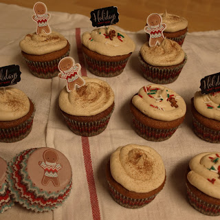 GINGERBREAD LATTE CUPCAKES