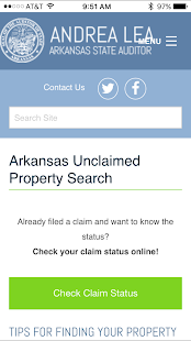 Unclaimed Property Search- screenshot thumbnail