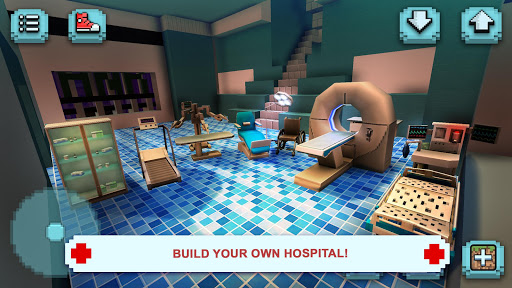 Hospital Craft: Doctor Games Simulator & Building 1.22-minApi19 Mod screenshots 5