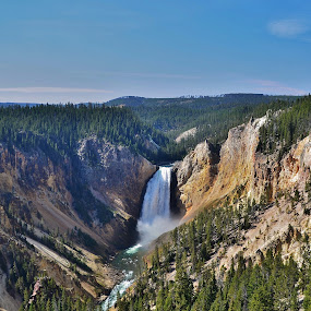 The Grand Canyon of Yellowstone by Thomas Barr - Landscapes Mountains & Hills (  )