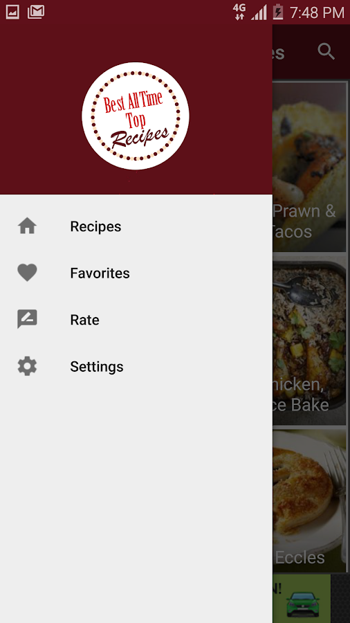 Best All Time Top Recipes- screenshot