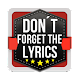 Don't Forget the Lyrics 2 (game)