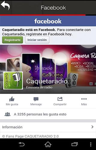 CaquetaRadio- screenshot