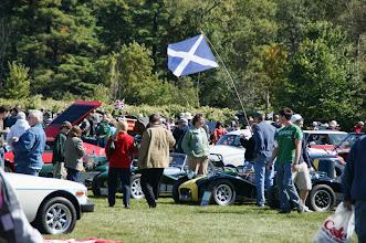 Photo: Beaucoup de visiteurs et de voitures