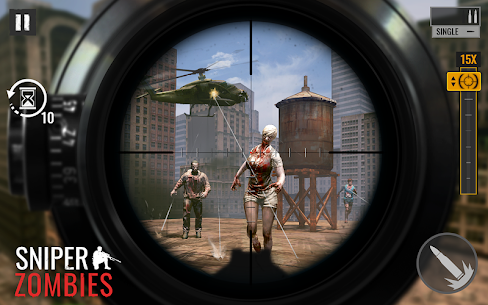 Sniper Zombies Offline Game Mod Apk 1.24.1 (Unlimited Gold) 1