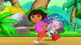 Dora und Boots helfen der guten Fee