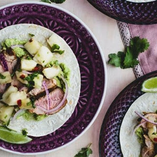 Spicy Pork Tacos with Pineapple Salsa Recipe
