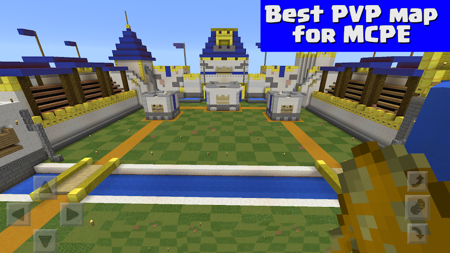 download map pvp minecraft pe