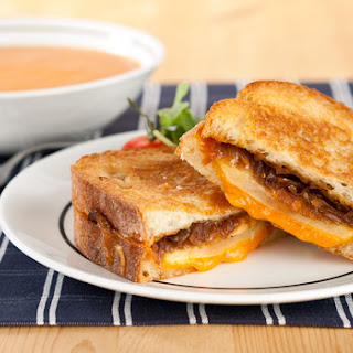 Cheddar & Onion Grilled Cheese