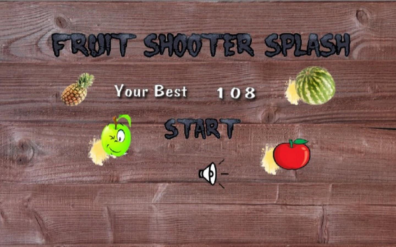 Fruit shooter games - Fruit Shooter Splash Screenshot