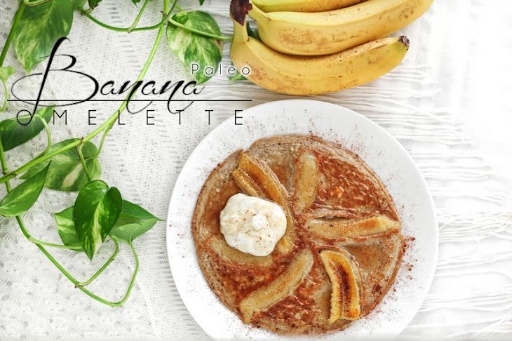 Sweet & Savory Banana Omelette (it's finally here...)