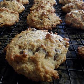 Almond Flour Ginger Scones with Honey Orange Frosting