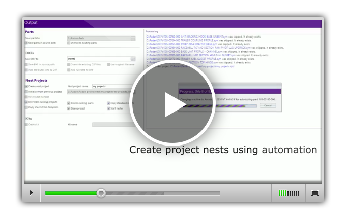 С помощью модуля Radimport, файлы геометрии автоматически подготавливаются к работе в RADAN.