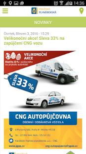 CNG stanice - náhled