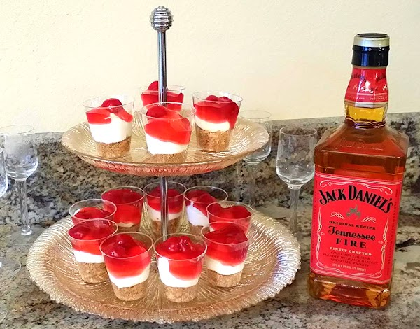 Jack Daniels Tennessee Fire Cheesecake Shots Recipe