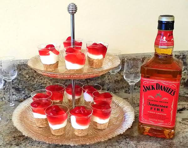 Jack Daniels Tennessee Fire Cheesecake Shots Recipe