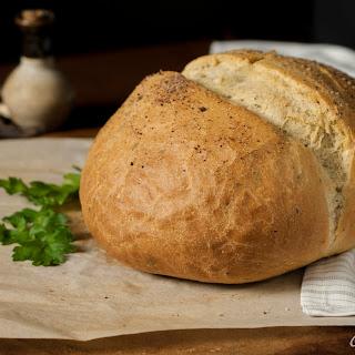 Wild Mushroom Herb Bread.