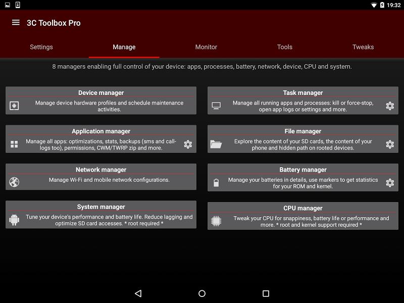 3C Toolbox Pro Screenshot 18