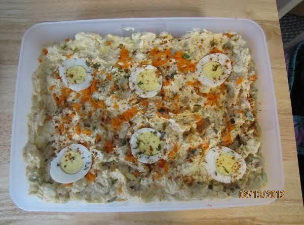 Patty's 1st Place Potato Salad Recipe